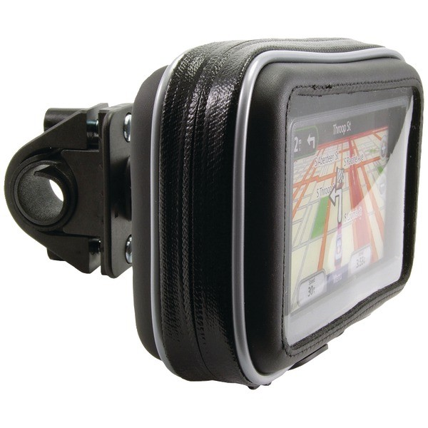 Handle Bar Mount with Water-Resistant Holder for GPS
