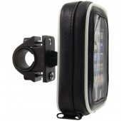 Bicycle & Motorcycle Handlebar Mount with Water-Resistant Case for Smartphones