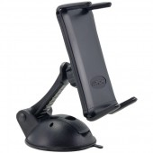 "Slim-Grip Ultra Flat Surface Removable Sticky Suction Mount for Smartphones & 7"" or 8"" Tablets"