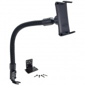 "Slim-Grip Ultra 18"" Flexible Aluminum Seat Rail or Floor Mount for Smartphones & 7"" or 8"" Tablets"