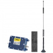 Cellular Phone Signal Booster Kit for Vehicles with Multiple Users (With Low Profile Antenna)